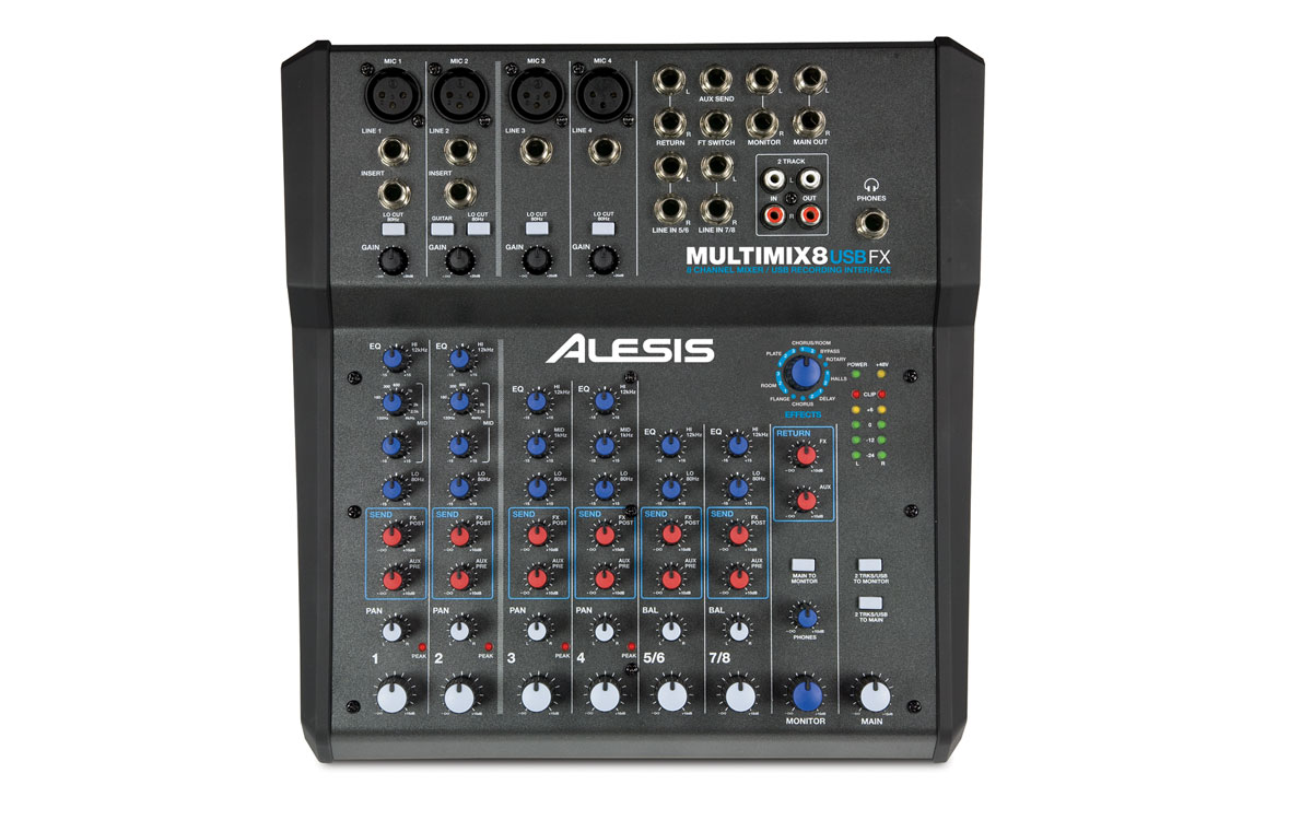 MultiMix 8 USB FX