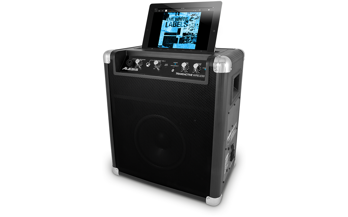 alesis transactive wireless portable powered bluetooth speaker system ebay. Black Bedroom Furniture Sets. Home Design Ideas